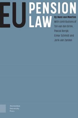EU Pension Law Hans van Meerten, PROF Hans van Meerten 9789463725217