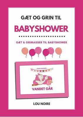 Gæt og grin til babyshower - pink Lou Noire 9788794080293