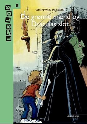 Bo-bøger. De grønne mænd og Draculas slot Søren Vagn Jacobsen 9788702302356