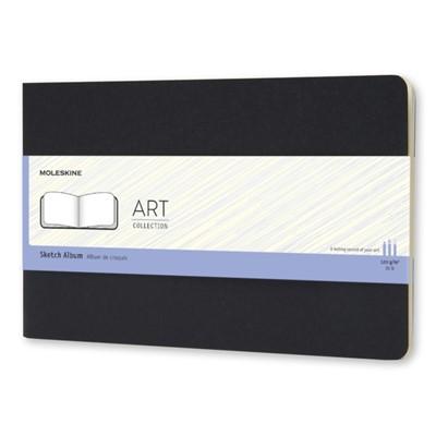 Moleskine Large Art Plus Cahier Sketch Album Black Moleskine 9788867323364