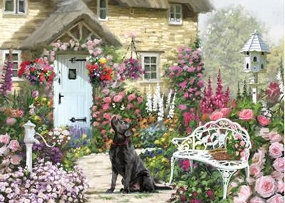 Cottage Garden 1000 Piece Jigsaw  5017680047077