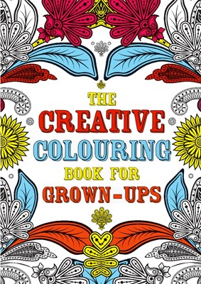 The Creative Colouring Book for Grown-Ups  9788771312508