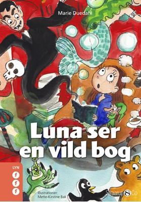 Luna ser en vild bog Marie Duedahl 9788775491117