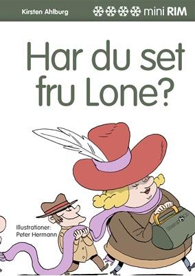 Har du set fru Lone? Kirsten  Ahlburg 9788775490998