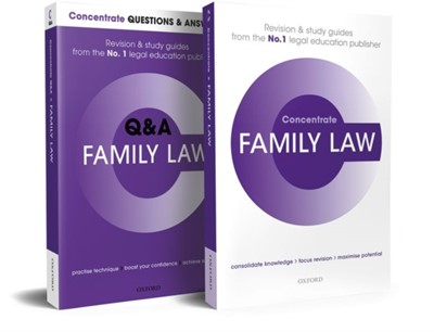 Family Law Revision Concentrate Pack Susan (Visiting Fellow Heenan, Ruth (Reader in Law Gaffney-Rhys, Anna (Consultant Heenan 9780192894939
