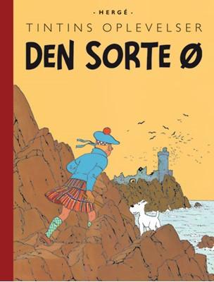 Tintins Oplevelser: Den sorte ø Hergé 9788770852753