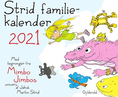 Strid familiekalender 2021 Jakob Martin Strid 9788702300369