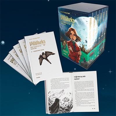 Vildheks - Den komplette samling (illustreret) (bog 1-6 i kassette) Lene Kaaberbøl 9788741512396