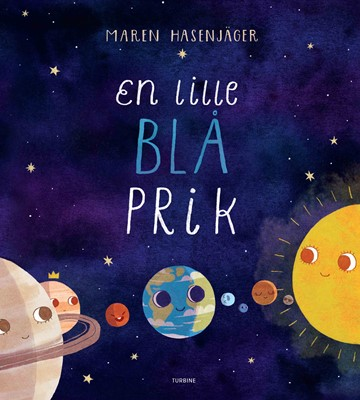 En lille, blå prik Maren Hasenjäger 9788740668858
