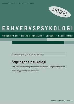 Styringens psykologi Klaus Majgaard, Jacob Alsted 9788771855043