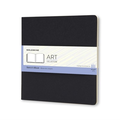Moleskine Square Art Plus Cahier Sketch Album Black Moleskine 9788867323388