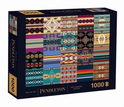 The Art of Pendleton Patchwork 1000-Piece Puzzle  9781797211466
