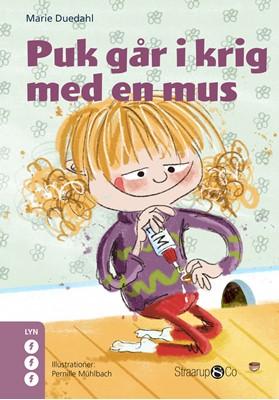 Puk går i krig med en mus Marie Duedahl 9788775491797
