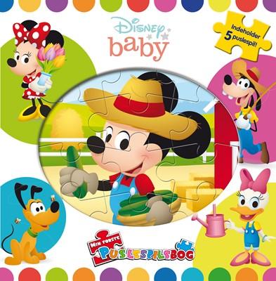 Disney Baby - Min første puslespilsbog (m. 5 puslespil)  9788771862140