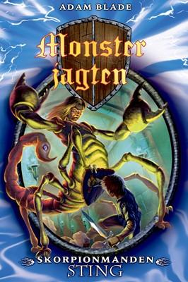 Monsterjagten (18) Skorpionmanden Sting Adam Blade 9788762735972