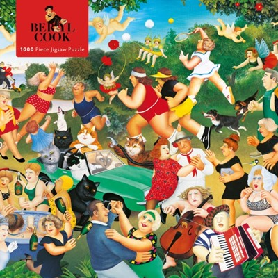 Adult Jigsaw Puzzle Beryl Cook: Good Times  9781787556119