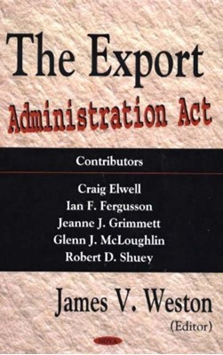 Export Administration Act  9781594542206