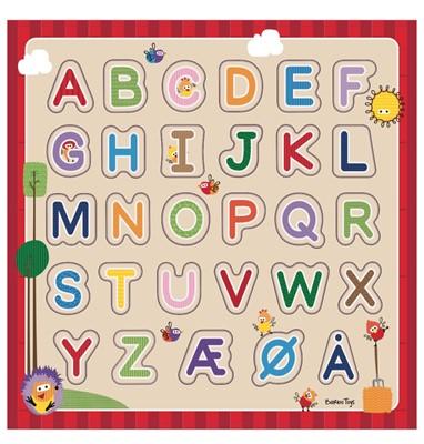 Wacky Wonders Alfabet puslespil Ukendt forfatter 5704976063735