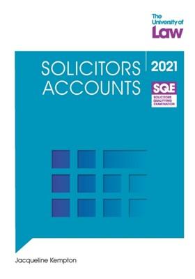 SQE - Solicitors Accounts Jacqueline Kempton 9781914219092