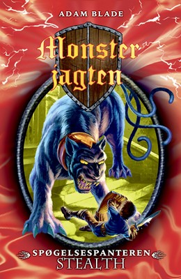 Monsterjagten (24) Spøgelsespanteren Stealth Adam Blade 9788762736030