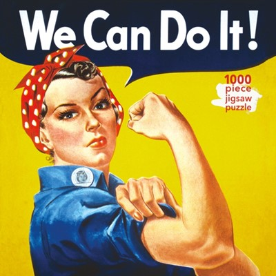 Adult Jigsaw Puzzle J Howard Miller: Rosie the Riveter Poster  9781786644909