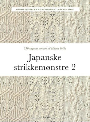 Japanske strikkemønstre 2 Hitomi Shida 9788740665635