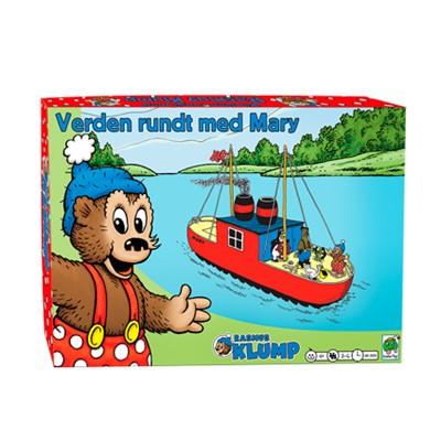 Rasmus Klump - verden rundt med skibet Mary  5704976074182