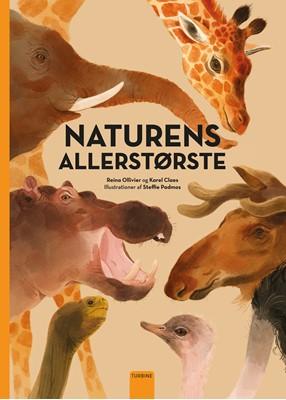 Naturens allerstørste Reina Ollivier, Karel Claes 9788740668230