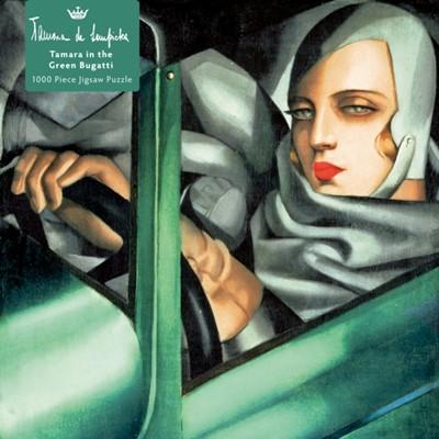 Adult Jigsaw Puzzle Tamara de Lempicka: Tamara in the Green Bugatti, 1929  9781839642906