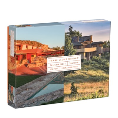 Frank Lloyd Wright Taliesin and Taliesin West 500 Piece Double-Sided Puzzle  9780735367548