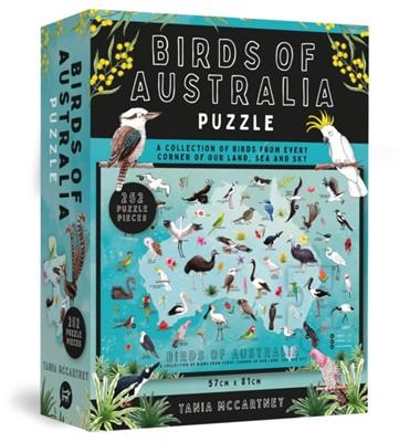 Birds of Australia Puzzle Tania McCartney 9781741177459