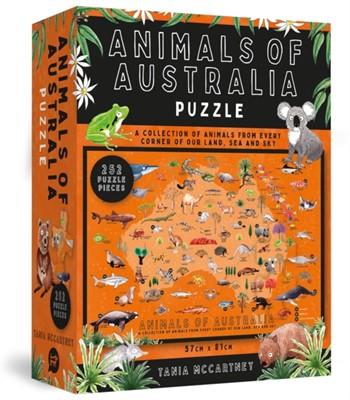 Animals of Australia Puzzle Tania McCartney 9781741177442