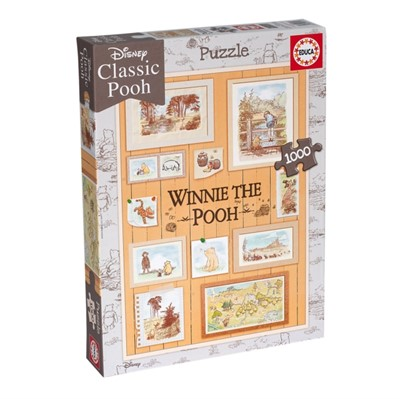 Educa Borras - Winnie the Pooh Photoframes 1000 piece Jigsaw Puzzle  8412668182561