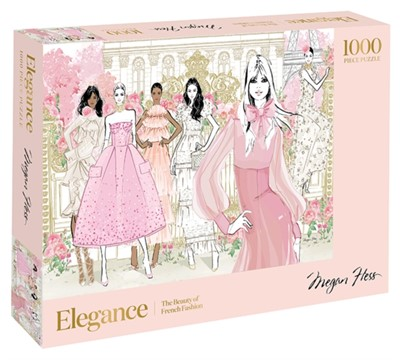 Elegance: 1000-Piece Puzzle Megan Hess 9781743797167