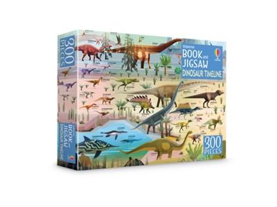 Dinosaur Timeline Book and Jigsaw Rachel Firth 9781474986908