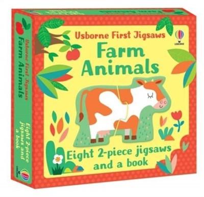 Usborne First Jigsaws: Farm Animals Matthew Oldham 9781474988544