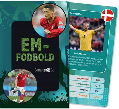 EM-fodbold (kortspil) Emilie Tholstrup 9788775492947