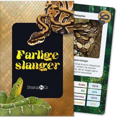 Farlige slanger (kortspil) Henrik Enemark 9788775492923