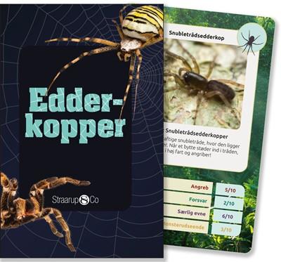 Edderkopper (kortspil) Henrik Enemark 9788775492879