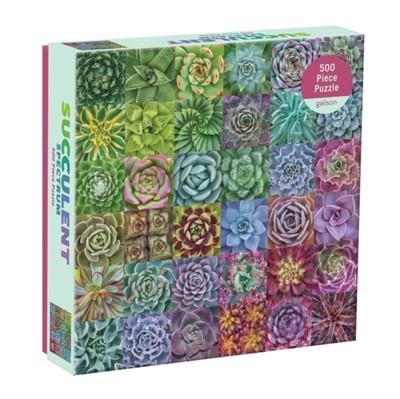 Succulent Spectrum 500 Piece Puzzle  9780735363427