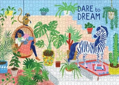 Dare to Dream 1,000-Piece Puzzle Editors of Flow Magazine, Astrid van der Hulst, Smit 9781523513819
