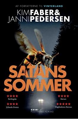Satans sommer Janni Pedersen, Kim Faber 9788740068320
