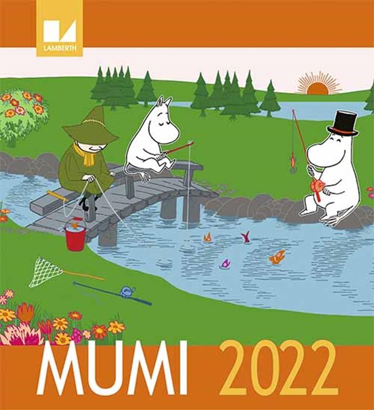 Mumi kalender 2022 (9788772242668)