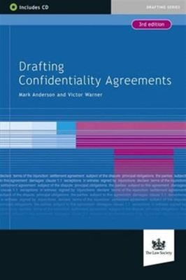 Drafting Confidentiality Agreements Mark Anderson, Warner Victor 9781907698972
