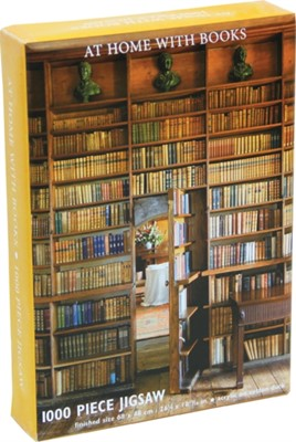 At Home with Books Jigsaw Puzzle  9781782495888