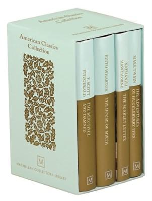 American Classics Collection Nathaniel Hawthorne, Edith Wharton, F. Scott Fitzgerald, Mark Twain 9781529004984