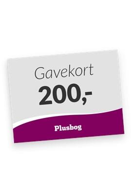Plusbog digitalt gavekort 200 kr.   1111110000005