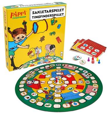 Pippi Langstrømpe - Tingfinder spillet  5704976086055