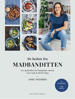 De bedste fra Madbanditten Jane Faerber 9788740071412