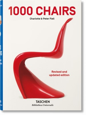 1000 Chairs. Revised and updated edition Charlotte & Peter Fiell, TASCHEN 9783836563697